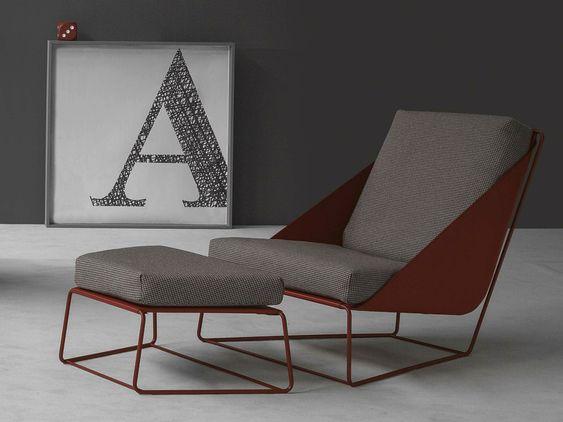 Alfie Lounge Chair by Giuseppe Viganò for Bonaldo