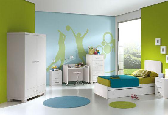 Combinacion amarillo azul rojo y verde buscar con google - Combinacion de colores para paredes de dormitorios ...