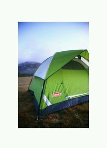 6-Person-Camping-Coleman-Sundome-Camp-Outdoor-Hiking-Tent-Shelter-Easy-New