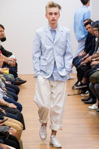 Comme des Garçons Shirt Spring 2015 Menswear Collection Slideshow on Style.com