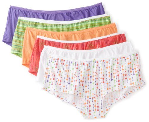 Fruit of the Loom Women's 6 Pack Boyshort, Assorted, 7 Fruit of the Loom,http://www.amazon.com/dp/B0073CYCV6/ref=cm_sw_r_pi_dp_oVvZrb1FH2B2Y8AT