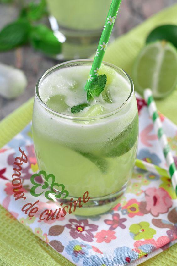 mojito sans alcool à l'ananas - Amour de cuisine