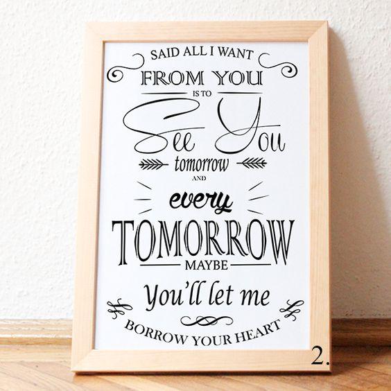 #JustinTimberlakelyrics- not a bad thing poster a3 by pendantsworld, $26.00 USD #song #lyrics #typography