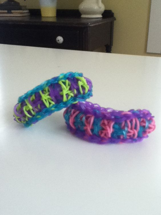 New rainbow loom bracelet I invented