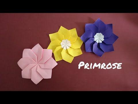 How To Make 3D Origami Flower Vase V9   cómo hacer florero de ...   360x480