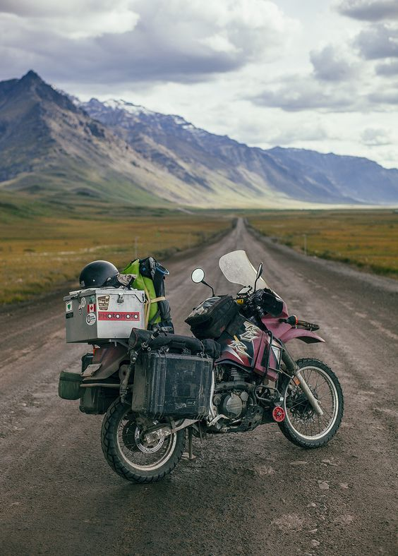 try traveling from san fran to the end of alaska. You Game? IF YOU RIDE OR LIKE DIRT BIKES COME VISIT http://cortezholio.wix.com/cr500 YOU'LL LOVE IT!!!