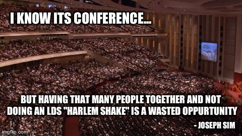 LOL! I could just see President Monson starting it!  #LDSmemes #FunnyLDS #LDSQuotes