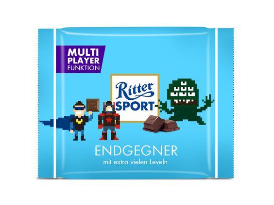 RITTER SPORT Fake Schokolade Endgegner