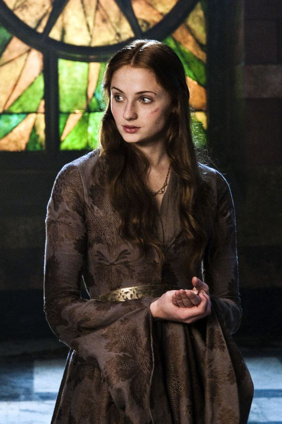 Sansa robe Catelyn aux vignes