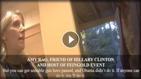 SECRET VIDEO: HILLARY PLANS EXECUTIVE ORDER ON GUNS: Sub for more:   The Conservative Tribune reports, Video footage captured by James…
