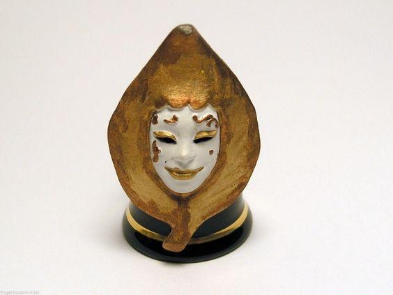 FINGERHUT Thimble Venezianische Maske | eBay /  Mar 15, 2015 / EUR 34.50