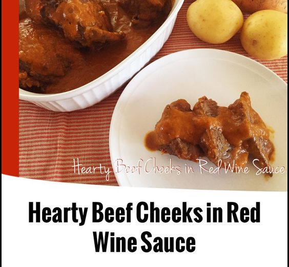 {Thermomix} Hearty Beef Cheeks