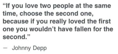 choose the second one: Word Of Wisdom, Well Said, So True, Quotes Sayings, Favorite Quotes, Wise Words, Johnny Depp Quotes, Photography Repins