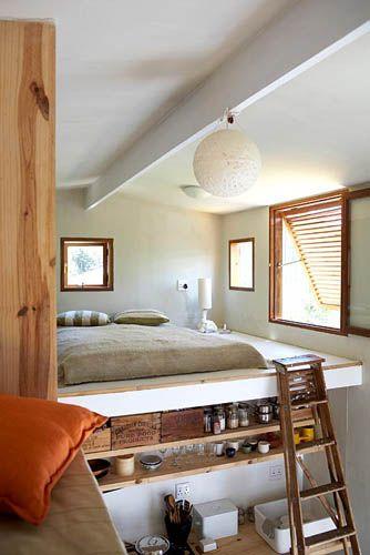 mezzanine bedroom - Google Search Bedroom Pinterest - moderne wandbilder für wohnzimmer