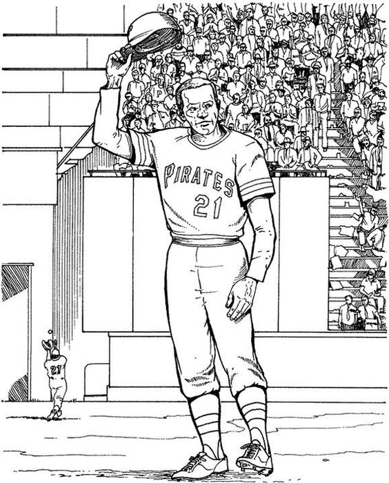 pittsburgh pirates player baseball coloring page purple kitty coloring pages pinterest pittsburgh pirates