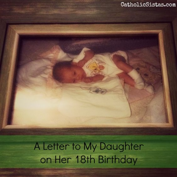 Birthdays, Letter To My Daughter And Daughters On Pinterest