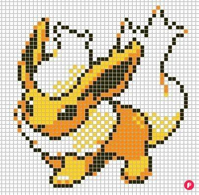 Pixel Art A Imprimer Pokemon Avec Et Pixel Art Colorier 32 Pixel Art Colorier In 2020 Minecraft Pixel Art Pixel Art Grid Pixel Art Pokemon