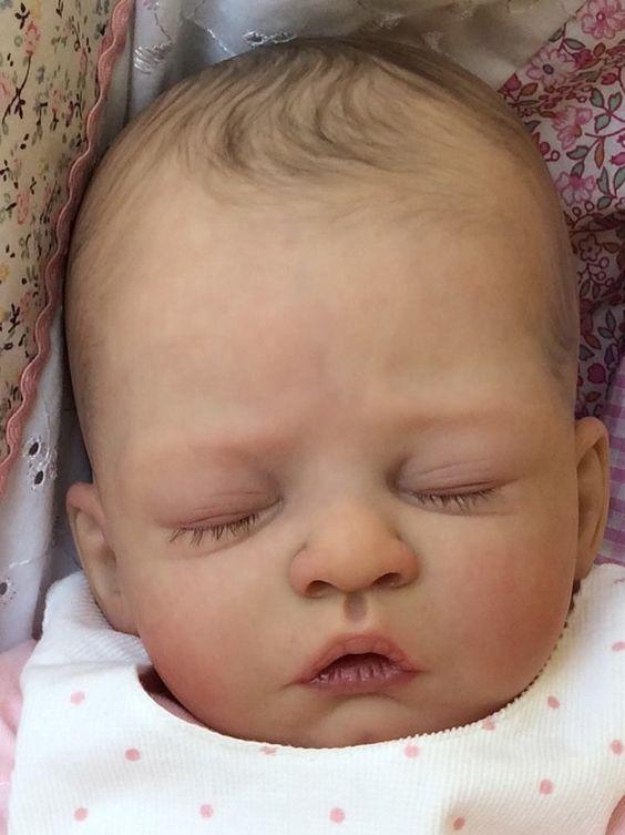 Joanna s Nursery ~ ADORABLE~ PROTOTYPE~ Reborn Baby GIRL~ LEVI By Heike Kolpin~