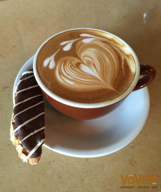 Beautiful Latte Art by Matt at Vovito Bellevue