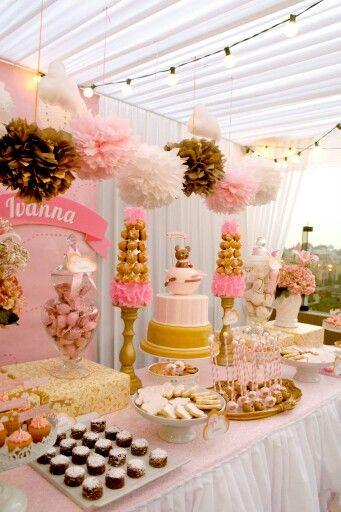 Mejores ideas sobre fiesta pollin fiestita en y bautizo for Rosas de decoracion