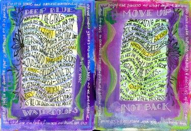 i want to start an art journal but it looks so time consuming.
