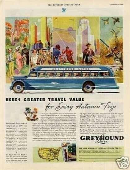 Greyhound Lines Company 1934