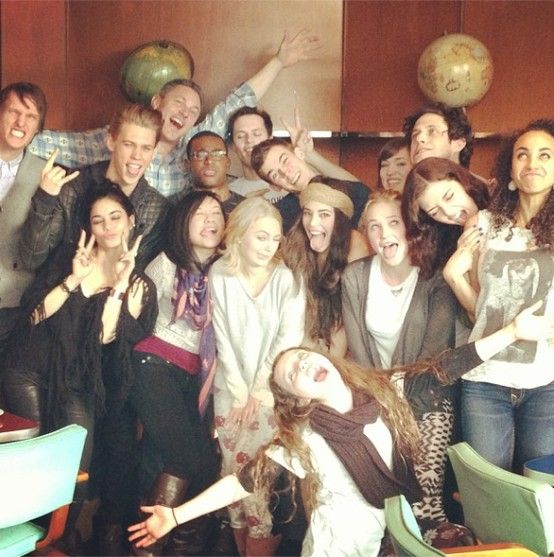 The Carrie Diaries cast