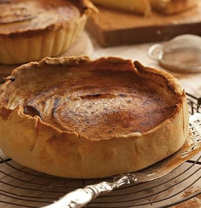 Milk tart is one of our most beloved desserts.