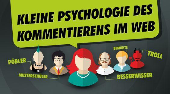 Kleine Psychologie des Kommentierens im Web