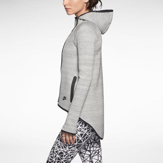nike tech fleece cape women 39 s hoodie nike store jackets. Black Bedroom Furniture Sets. Home Design Ideas