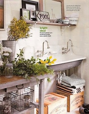 Love ..: Kitchen Sink, Mudrooms, Housewarming Gift, Mud Rooms, Laundry Rooms, Kohler Farmhouse, Farmhouse Sinks, House Idea, Laundry Mudroom