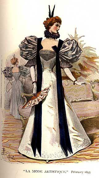 La Mode Artistique, February 1895