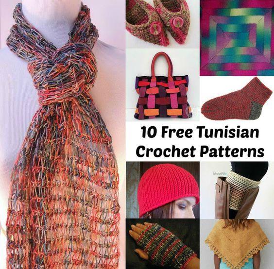 Free Tunisian Crochet Patterns : Tunisian crochet patterns, Tunisian crochet and Crochet patterns on ...