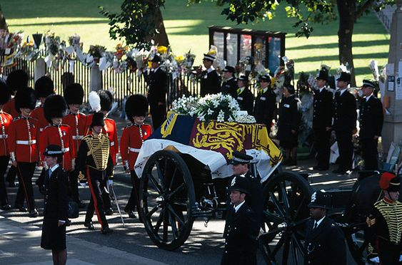princess diana funeral and diana on pinterest