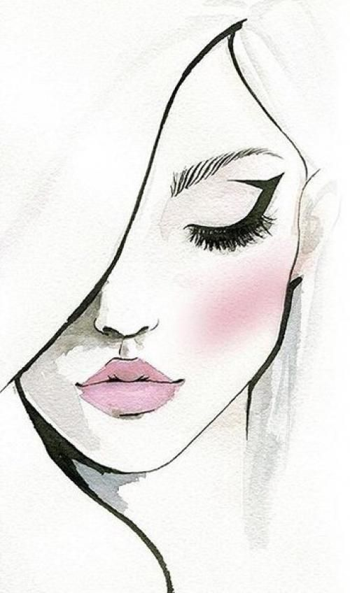 Kurs Makiyazh Dlya Sebya Beauty Art Drawings Art Drawings Sketches Simple Art Drawings