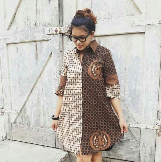 Ankara Shirt Gown Styles
