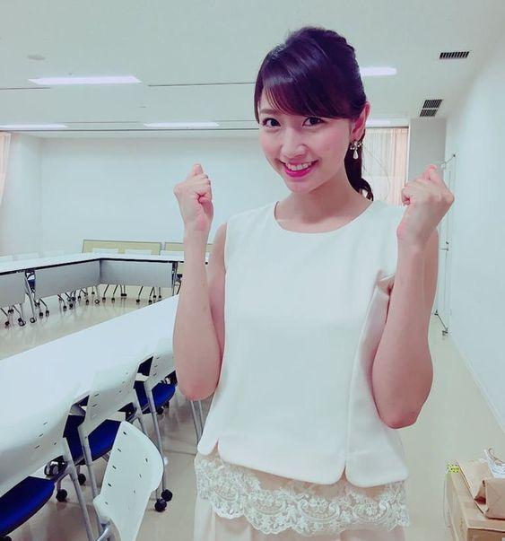 グッディ!収録前の笑顔がかわいい三田友梨佳アナの画像