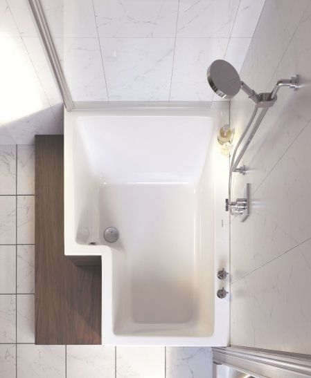 Tub Shower Combination Duravit And Soaking Tubs On Pinterest