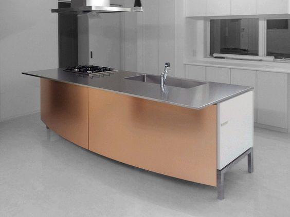 Elegant K che bulthaup b mit Einbauger ten von Gaggenau Quooker und Berbel Kitchen Dining Pinterest Kitchen dining and Kitchens