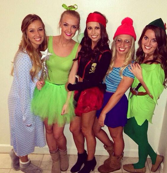 Peter Pan Themed Group Halloween Costume Idea Fall In Love Pinterest Halloween Costumes