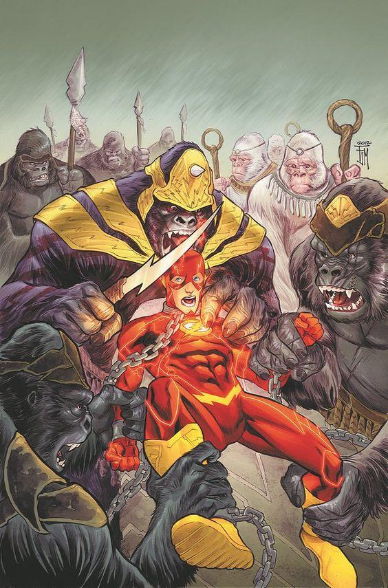 Flash- a guerra dos gorilas