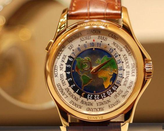 Image result for Patek Philippe Platinum World Time