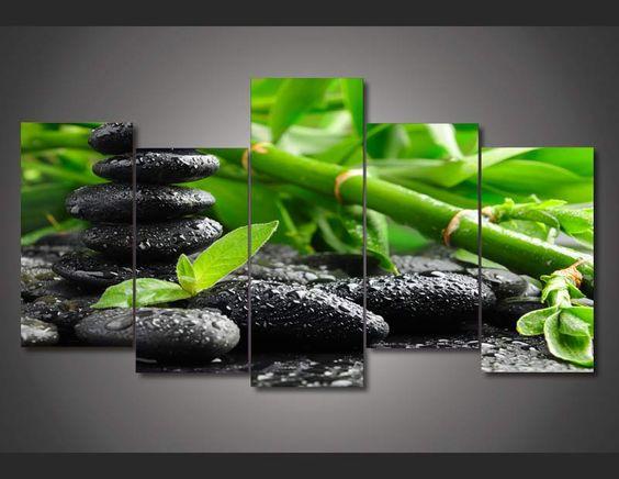 Aliexpress.com: Comprar Enmarcado impreso Lucky pintura de bambú ...