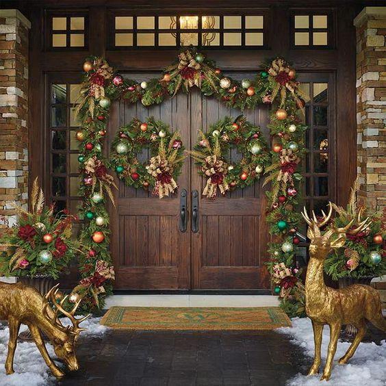 Como Decorar La Puerta Principal De Navidad