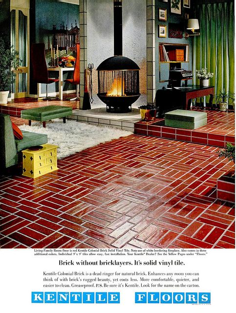 1968 Ad for Kentile Floors