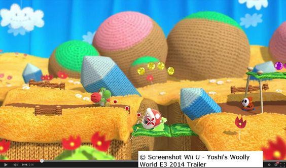 """Yoshi's Wooly World"" - Yoshi liebt Wolle :D  tinyurl.com/mq82p4r"