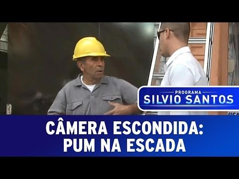 Camera Escondida Pum Na Escada Youtube Camera Escondida