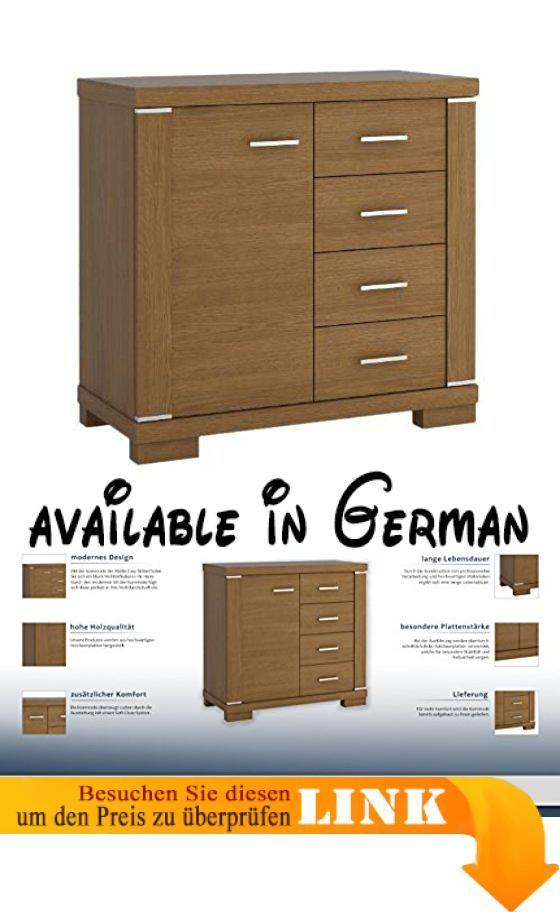 B01N5CCMFD  Sideboard Eiche rustikal Breite 90 cm Höhe 8550 - sideboard für schlafzimmer