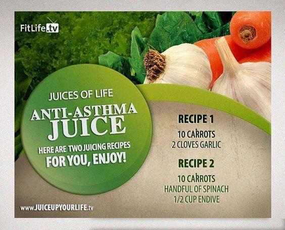 the anti asthma juice recipe carrots garlic carrots