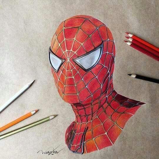 Dibujo spiderman